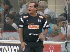 Santos empata com o Sport em casa e Muricy Ramalho fica irritado com a atuação do time - Técnico não gostou do resultado e perdeu mais dois jogadores lesionados.