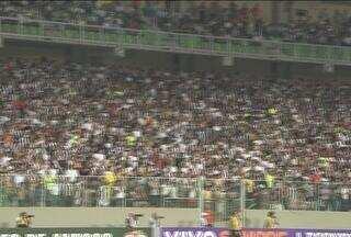 Torcida dá show no 'caldeirão' Independência, e motiva Atlético-MG contra o Corinthians - A torcida atleticana lotou o remodelado estádio do Independência, e empurrou o time rumo à segunda vitória consecutiva no Campeonato Brasileiro, contra o Corinthians.