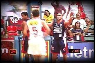 """Globo Esporte DF: Capitão Alex relembra a primeira final do NBB - O camisa 10 dá início à série """"Lembranças de uma decisão"""", que refazem a trajetória do Brasília até o bicampeonato, no ano passado. Primeira final foi contra o arquirrival Flamengo e terminou com título rubro-negro"""