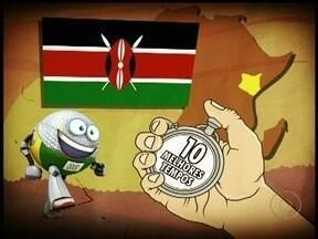 Globolinha apresenta Reis da Maratona das Olimpíadas - Africanos tem supremacia na história dos jogos e Marílson Gomes dos Santos, em 25ª lugar. Quenianos possuem os 10 primeiros tempos.