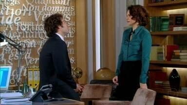 Cheias de Charme - Capítulo de quarta-feira, dia 06/06/2012, na íntegra - Lygia aconselha Elano a não arrumar confusão com Conrado