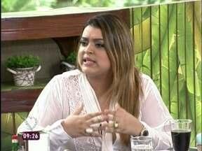 Preta Gil se declara fã de Carminha - As faces de Carminha: programa seleciona expressões da vilã
