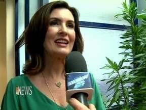 Vídeo Show News: Fátima Bernardes conta as horas para a estreia do novo programa - 'A ideia é que seja uma conversa de mão dupla', diz a jornalista
