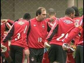 Paulo Baier faz primeira viagem longa na Série B - Maestro será titular do Atlético diante do Ceará, em Fortaleza