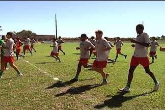 Sampaio enfrenta Comercial no próximo domingo - Equipe quer se manter na liderança do grupo A2 do Brasileiro da Série D