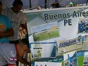 Mais Você explora a Buenos Aires de Pernambuco - Mais Você manda enviado especial para Buenos Aires, de Pernambuco, para partida de Boca Juniors e Corinthias. Louro José faz pegadinha com repórter.