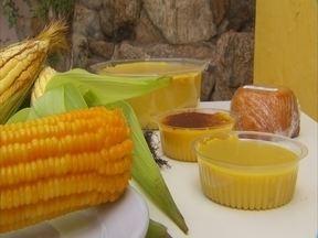 Iguarias à base de milho verde no interior - Há mais de trinta anos uma rede de restaurantes da região usa omilho verde como ingrediente principal na produção de pratosdeliciosos.
