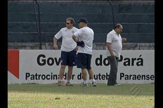 Remo se prepara para pegar o Penarol - Treinador Edson Gaúcho tenta acertar o time