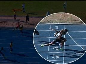 Troféu Brasil de Atletismo precisa de fotochart para definis vencedor dos 200m rasos - Bruno Lins vence a prova sobre Aldemir Gomes. No feminino, Rosângela dos Santos ficou com a medalha.