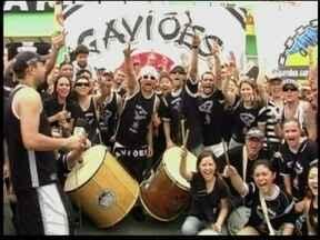 Serginho mostra como foi os corintianos comemoraram o título da Copa Libertadores no Japão - A torcida Gaviões da Fiel do Japão fez barulho na terra do sol nascente