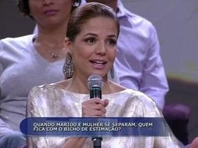 Nívea Stelmann compartilhou a guarda de sua cadela com o ex-marido Mário Frias - Atriz acha que tem que ser sensato na hora da separação