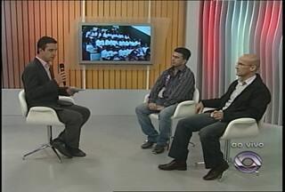 Ao vivo no estúdio, uma entrevista com os técnicos da dupla Rio-Nal - Técnicos falam dos preparativos para participar da Copa Hélio Dourado