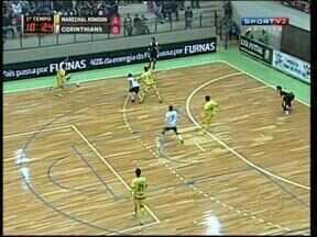 Marechal Rondon e Corinthians empatam na Liga Futsal - Resultado deixa os dois times longe da próxima fase da competição