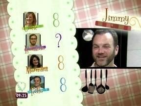 Veja as notas que Jimmy recebeu dos concorrentes - Confira as notas que o americano recebeu por seu evento