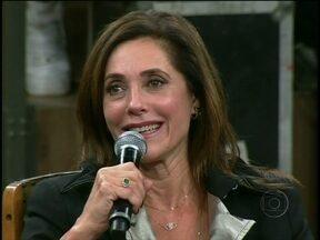 Christiane Torloni relembra Teresa Cristina em reencontro com Marcelo Serrado - Atriz revela que sempre foi apaixonada por dança e que agora mostra seu amor no teatro