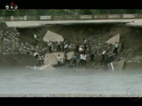 Passagem de tufão provoca 88 mortes na Coreia do Norte - Cidades foram inundadas e estradas, destruídas. O fenômeno deixou, ainda, 125 feridos. Parte da China e a capital das Filipinas também estão debaixo d'água.