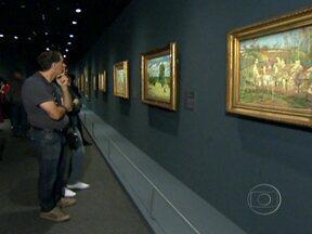 Exposição em São Paulo reúne grandes obras do Museu D'Orsay, de Paris - Houve fila no fim de semana para ver a exposição. Pessoas ficaram na fila até as 5h para passar a madrugada ao lado de Van Gogh, Cézzane e outros gênios da pintura.