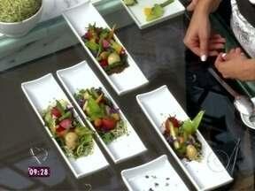 Super Chef Celebridades inova com pratos exóticos e dicas exclusivas - Confira como foi o primeiro workshop, que teve o tema 'Vanguarda'
