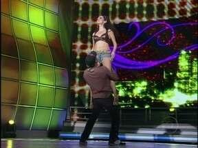 Dança dos Famosos neste domingo foi em ritmo de funk - Vídeo Show registrou os bastidores da competição da Dança dos Famosos