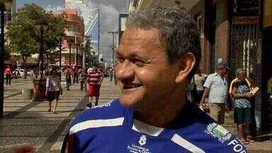 Cornetando: torcedores reclamam da situação dos times cearenses no Brasileiro - Fábio Pizzato foi até as ruas de Fortaleza ouvir as reclamações dos torcedores.