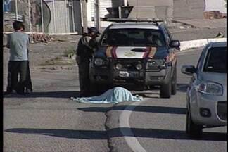 Dados sobre atropelamentos nas rodovias federais na Paraíba - Só este ano foram 99.