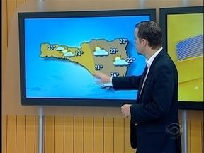 Veja como fica a temperatura para esta quarta-feira - A previsão é do meteorologista Leandro Puchalski.
