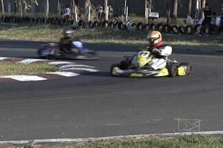 Desafio interestadual agita o Campeonato Integrado de kart - Competição está sendo disputada no kartódromo de Imperatriz