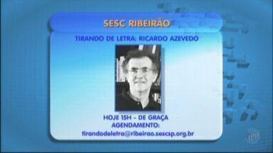 Escritor Ricardo Azevedo participa de encontro com leitores em Ribeirão Preto - Confira as dicas na agenda cultural desta quarta-feira (8).
