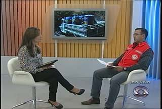 Ao vivo no estúdio, coordenador regional da Defesa Civil fala sobre a estiagem - Coordenador fala sobre ações para amenizar os prejuízos da seca