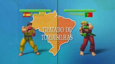"""Itápolis é uma das cidades por onde passava o """"Tratado de Tordesilhas"""" - Acordo entre Portugal e Espanha demarcava linha imaginária que separava terras descobertas pelos dois países"""