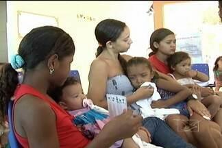 Em Caxias, mais de 15 mil crianças devem ir aos postos de vacinação neste sábado - A campanha nacional de vacinação teve início neste sábado (18).