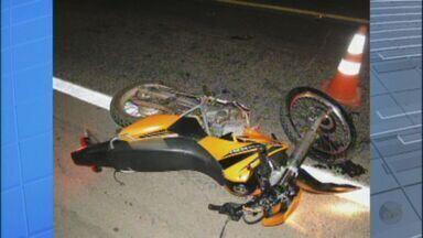 Acidente entre motos mata adolescente e deixa dois feridos na MG-050 - Acidente entre motos mata adolescente e deixa dois feridos na MG-050