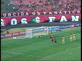 Atlético vence o Criciúma em Paranaguá - Clube paranaense venceu por 1x0.