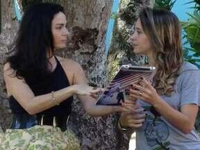 O Que Vem Por Aí - Estreia do quadro Retrô Básico, com Claudia Ohana - Atriz participa do novo quadro do Vídeo Show