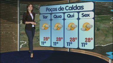 Confira a previsão do tempo no Sul de Minas - Confira a previsão do tempo no Sul de Minas para essa segunda-feira (20)