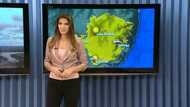 Veja a previsão do tempo para esta segunda-feira em Minas Gerais - Ventos frios permanecem na região metropolitana.