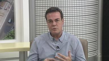 Henrique Oliveira é entrevistado pelo JAM - Nesta segunda-feira (20), o JAM entrevistou o candidato a prefeitura de Manaus, Henrique Oliveira. A candidata Vanessa Grazziotin deverá falar nesta terça (21). A ordem das entrevistas foi definida por sorteio.