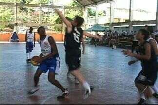 Equipe de basquete de Cachoeiro, no ES, é campeã estadual das olimpíadas escolares - Lusb/Cristo Rei não perdeu nenhuma partida.