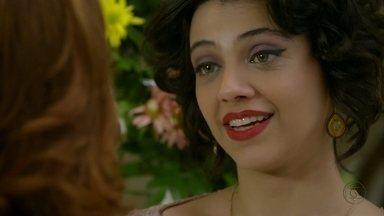 Amor Eterno Amor - Capítulo de terça-feira, 21/08/2012, na íntegra - Miriam joga na cara de Amparo que Rodrigo está com ela por pena