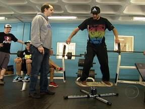 Ciência ajuda skatistas a encarar a Mega Rampa - undefined