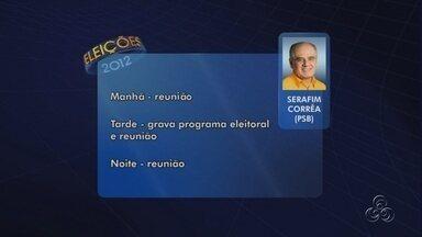 Veja a agenda dos candidatos a prefeito de Manaus nesta sexta-feira (31) - Candidatos cumprem diversas atividades