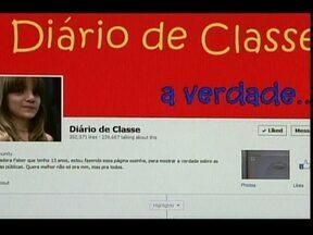 Iniciativas de alunos para denunciar más condições de escolas públicas crescem no país - Em Florianópolis, uma menina criou uma página na internet, uma espécie de diário, para denunciar tudo o que estava errado em sua escola. A página fez muito sucesso e iniciativas desse tipo estão se espalhando pelo Brasil.