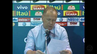 Mano Menezes divulga lista de convocaados para a partida contra Argentina - Dois jogadores são novidades.