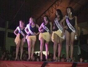 Concurso elege Miss Iranduba - Diversas candidatas participaram da seleção