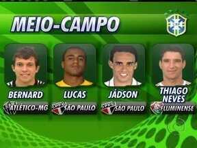 Mano Menezes convoca 19 jogadores que atuam no Brasil para o Superclássico das Américas - Novidades foram Marcos Rocha, Carlinhos, Bernard e os retornos de Thiago Neves e Luis Fabiano.