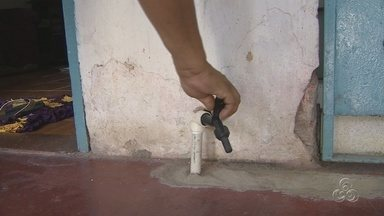 Moradores reclamam de falta d'água no bairro Jorge Teixeira, em Manaus - Famílias reivindicam melhorias no serviço de abastecimento de água.