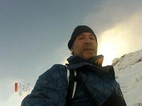 Vídeo Show News: Nelson Freitas visita a Nova Zelândia - Ator mostrou um pouco de suas aventuras para o Vídeo Show