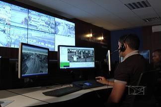 Instalação de câmeras nas ruas de São Luís deve diminuir criminalidade em 40%, diz SSP - Sistema de vídeo monitoramento já está funcionando na capital.