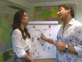 Zeca Camargo volta a dar pitacos sobre Avenida Brasil - Fã declarado da novela, jornalista conversou com Ana Furtado