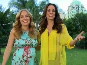 Vídeo Show acompanhou o primeiro dia de Ana Furtado no comando do Estrelas - Angélica e Ana relembraram trabalhos que fizeram juntas na TV
